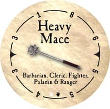 Heavy Mace - 2005a (Wooden)