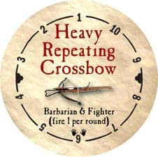 Heavy Repeating Crossbow - 2006 (Wooden)