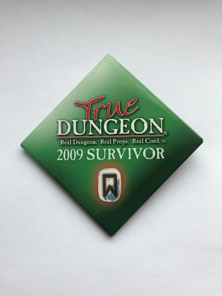 True Dungeon Completion Button (Survivor) - 2009