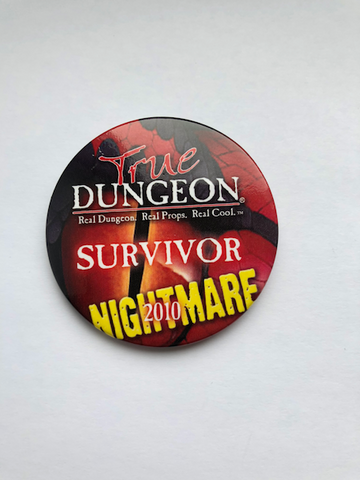 True Dungeon DragonWard Completion Button (Nightmare Survivor) - 2010