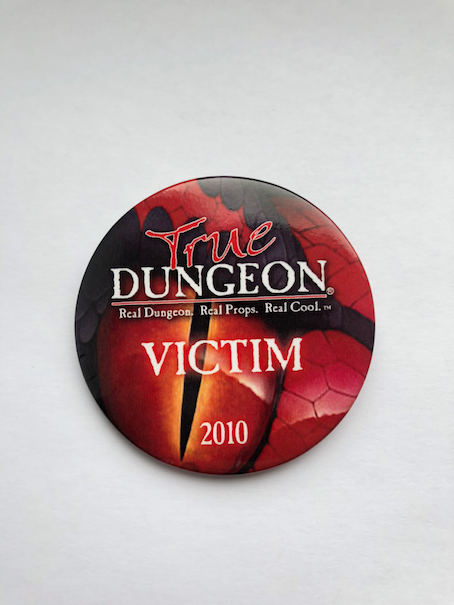 True Dungeon DragonWard Completion Button (Victim) - 2010
