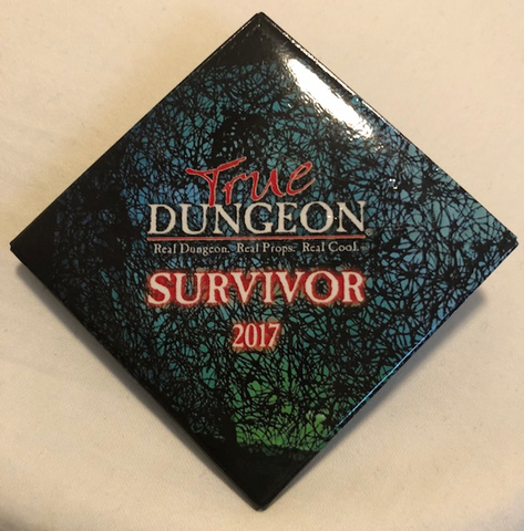 True Dungeon The Moongate Maze Puzzle Completion Button (Survivor) - 2017