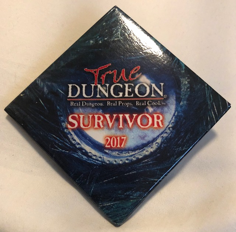 True Dungeon The Moongate Maze Combat Completion Button (Survivor) - 2017