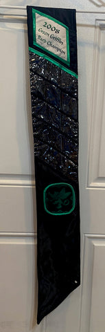 Widseth's 2008 Green Griffin Bard Champion Sash - C37