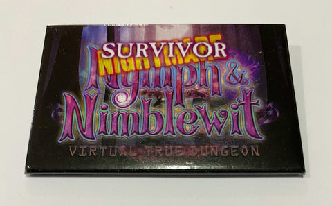 True Dungeon Nymph & Nimblewit Completion Button (Nightmare Survivor) - 2020
