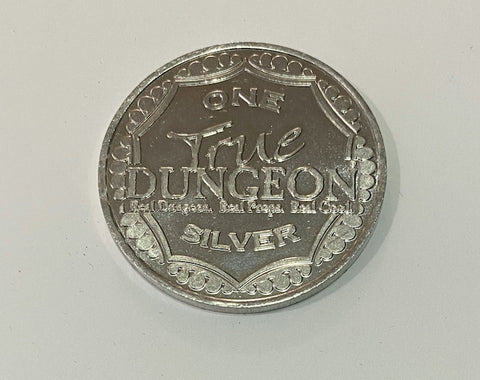 True Dungeon True Fantasy Tavern Silver Coin - C37