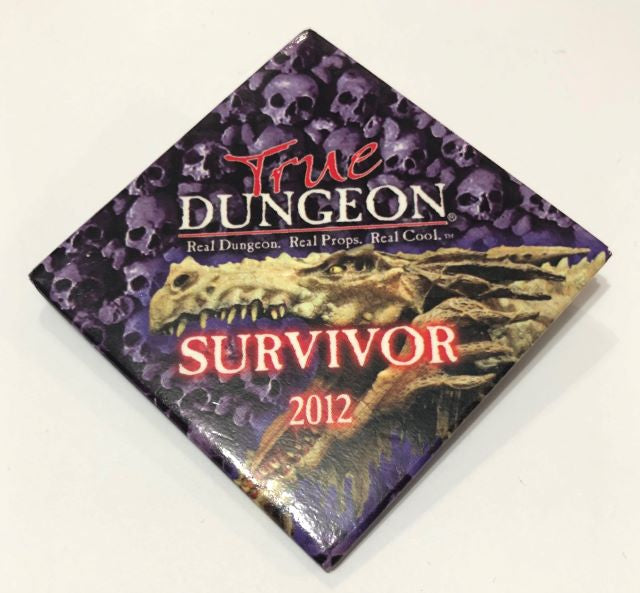 True Dungeon Completion Button (Survivor) - 2012