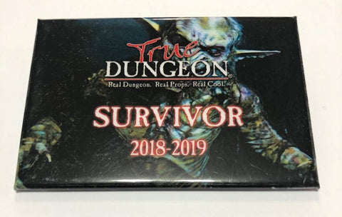 True Dungeon Odin's Haven Completion Button (Survivor) - 2018-2019