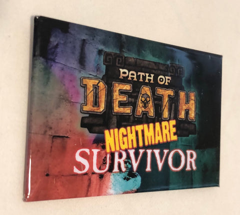 True Dungeon Path of Death Completion Button (Nightmare Survivor) - 2019