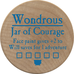 Jar of Courage - 2006 (Wooden)