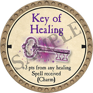 Key of Healing - 2020 (Gold)