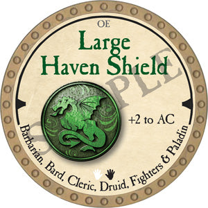 Large Haven Shield - 2019 (Gold)