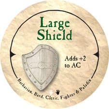 Large Shield - 2005b (Wooden)