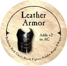 Leather Armor - 2005b (Wooden) - C26