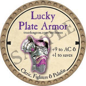 Lucky Plate Armor - 2020 (Gold)