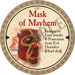 Mask of Mayhem - 2019 (Gold) - C10