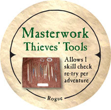 Masterwork Thieves' Tools - 2005a (Woodie)