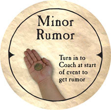 Minor Rumor (C) - 2004 (Wooden) - C61