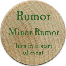 Minor Rumor (UC) - 2006 (Wooden) - C26
