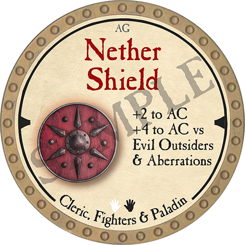 Nether Shield - 2019 (Gold)