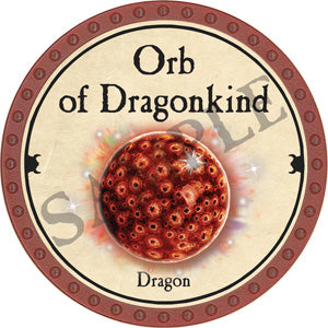 Orb of Dragonkind (Dragon) - 2018 (Red) - C53
