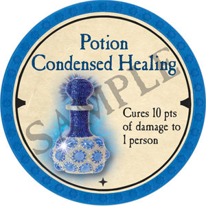 Potion Condensed Healing - 2019 (Light Blue)