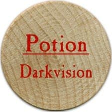Potion Darkvision (R) - 2005b (Wooden) - C26