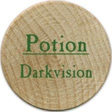 Potion Darkvision (UC) - 2004 (Wooden)
