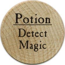 Potion Detect Magic - 2005a (Wooden) - C26