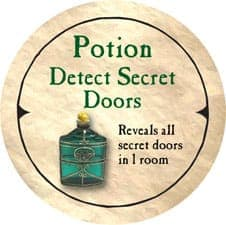 Potion Detect Secret Doors - 2005b (Wooden) - C26