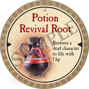 Potion Revival Root - 2019 (Gold)
