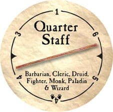 Quarter Staff - 2006 (Wooden)