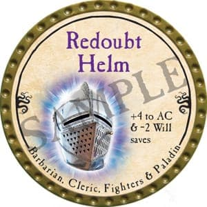 Redoubt Helm - 2016 (Gold) - C1