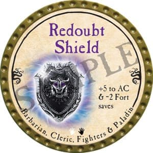 Redoubt Shield - 2016 (Gold) - C19