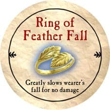 Ring of Feather Fall - 2005b (Wooden) - C12