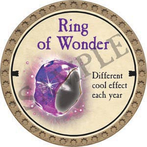 Ring of Wonder - 2020 (Gold)