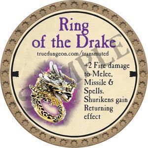 Ring of the Drake - 2020 (Gold)