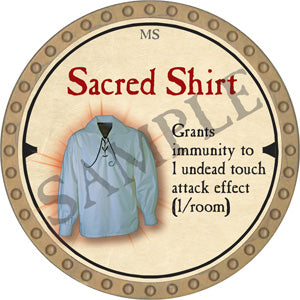 Sacred Shirt - 2019 (Gold)