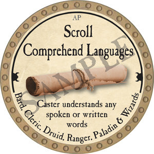 Scroll Comprehend Languages - 2006 (Wooden)