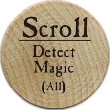Scroll Detect Magic - 2005a (Wooden)