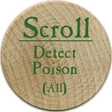 Scroll Detect Poison (UC-A) - 2005a (Wooden)