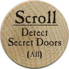 Scroll Detect Secret Doors - 2003 (Woodie)