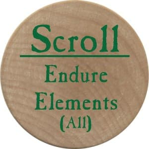 Scroll Endure Elements (UC) - 2005a (Wooden)