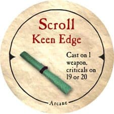 Scroll Keen Edge - 2006 (Wooden) - C12