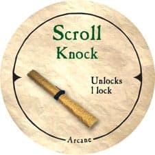 Scroll Knock - 2006 (Wooden) - C26
