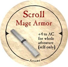 Scroll Mage Armor - 2005a (Woodie)