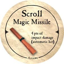 Scroll Magic Missile - 2006 (Woodie)