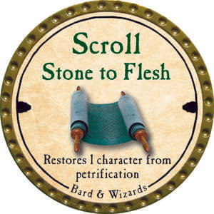 Scroll Stone to Flesh - 2006 (Woodie)
