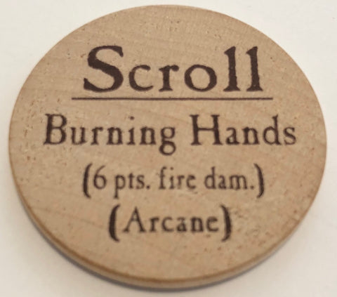 Scroll Burning Hands - 2003 (Woodie)