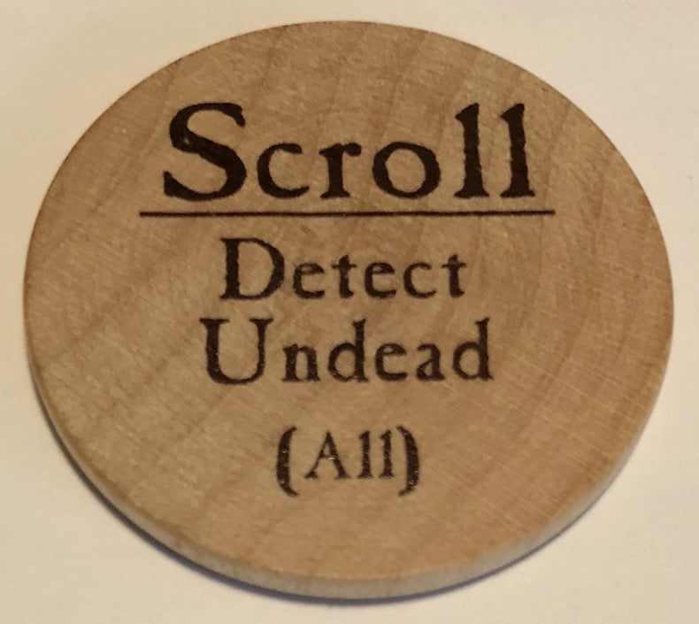 Scroll Detect Undead - 2003 (Wooden)